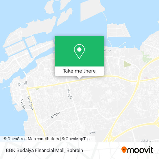 BBK Budaiya Financial Mall map