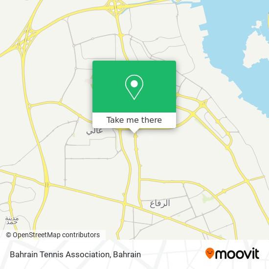Bahrain Tennis Association map