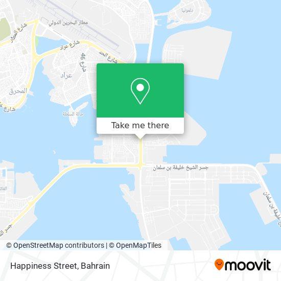 Happiness Street map