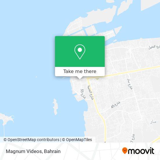 Magnum Videos map