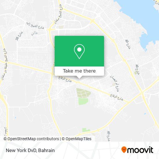 New York DvD map