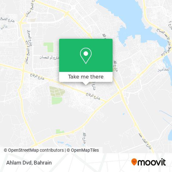 Ahlam Dvd map