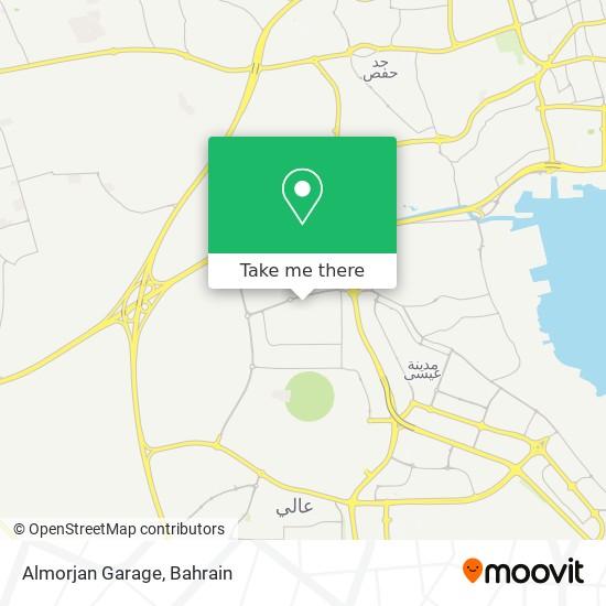 Almorjan Garage map
