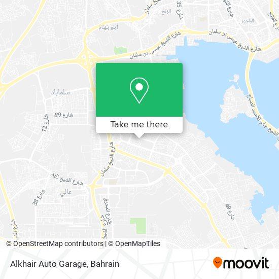 Alkhair Auto Garage map