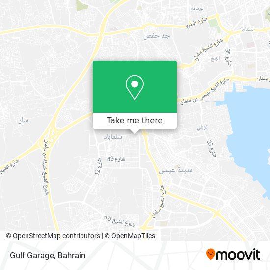 Gulf Garage map