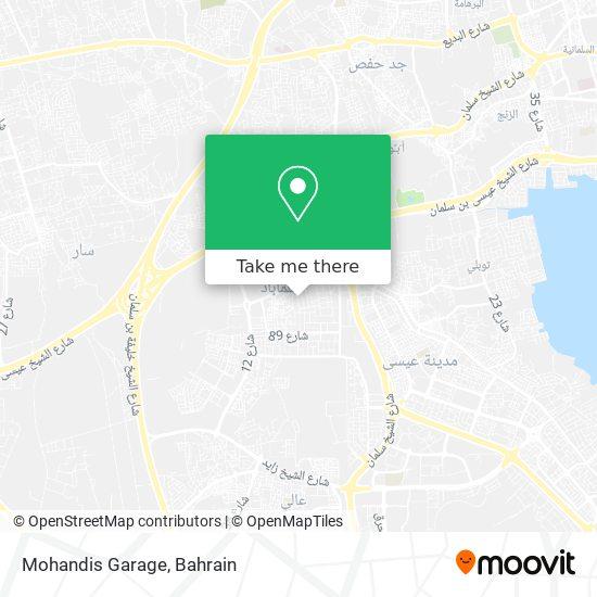 Mohandis Garage map