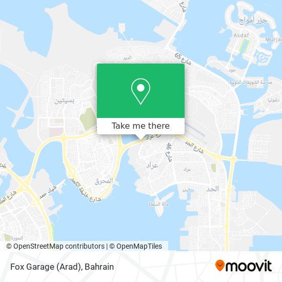 Fox Garage (Arad) map