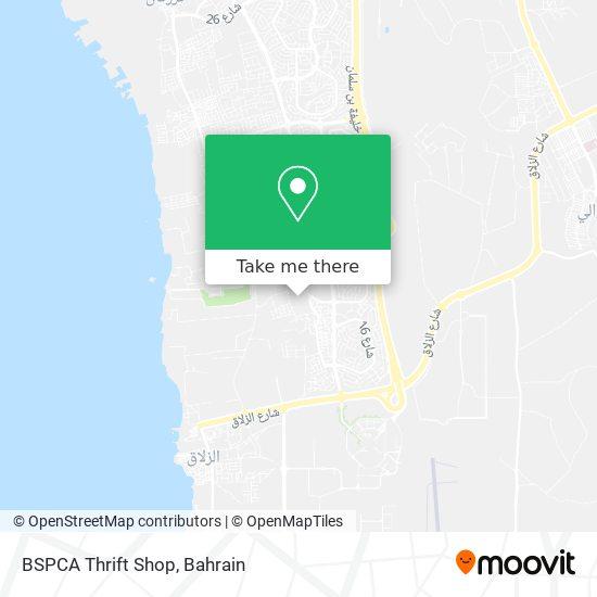 BSPCA Thrift Shop map