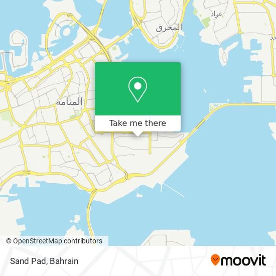 Sand Pad map