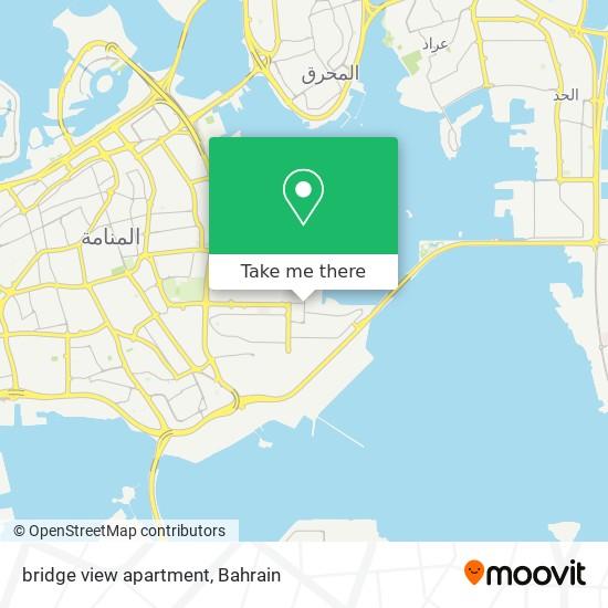 bridge view apartment map