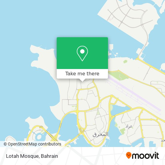 Lotah Mosque map