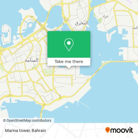 Marina tower map