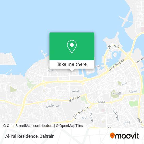 Al-Yal Residence map