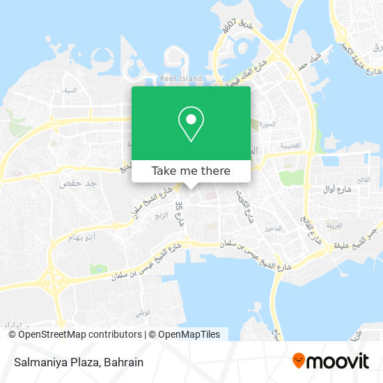 Salmaniya Plaza map