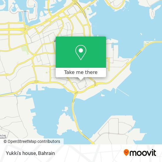Yukki's house map
