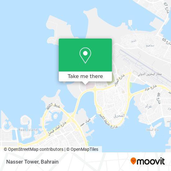 Nasser Tower map
