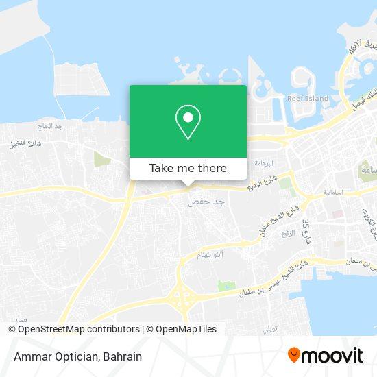 Ammar Optician map