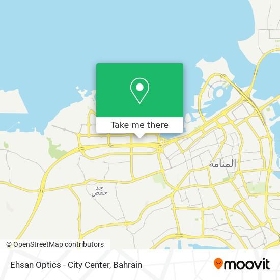 Ehsan Optics - City Center map