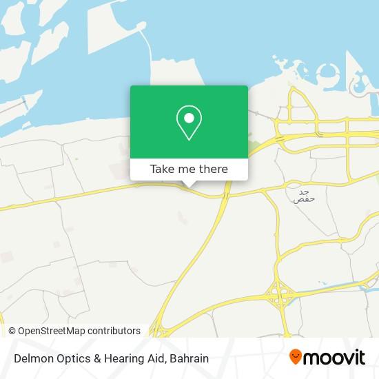 Delmon Optics & Hearing Aid map
