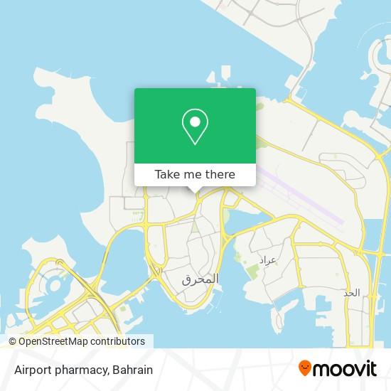 Airport pharmacy map