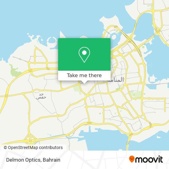 Delmon Optics map