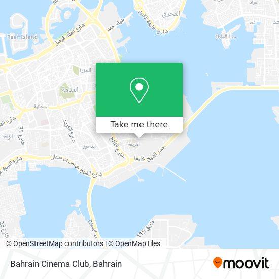 Bahrain Cinema Club map