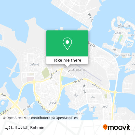 القاعه الملكيه map