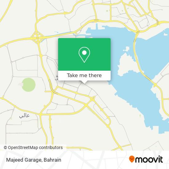Majeed Garage map