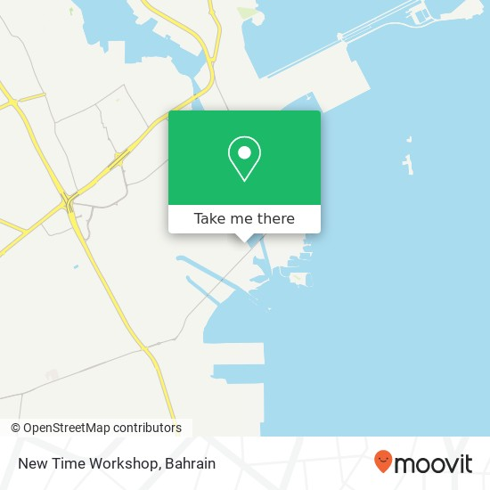 New Time Workshop map