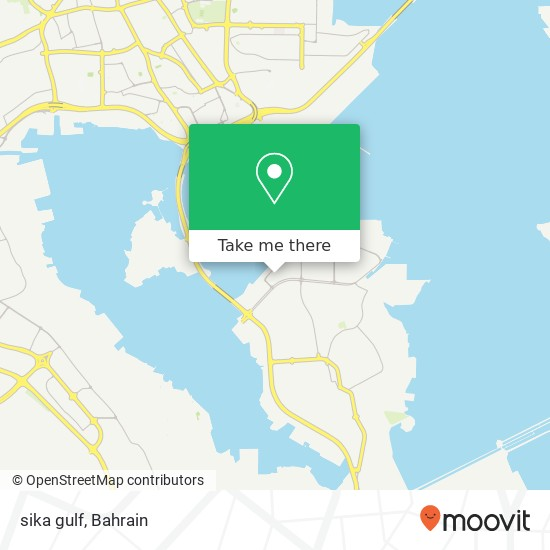 sika gulf map
