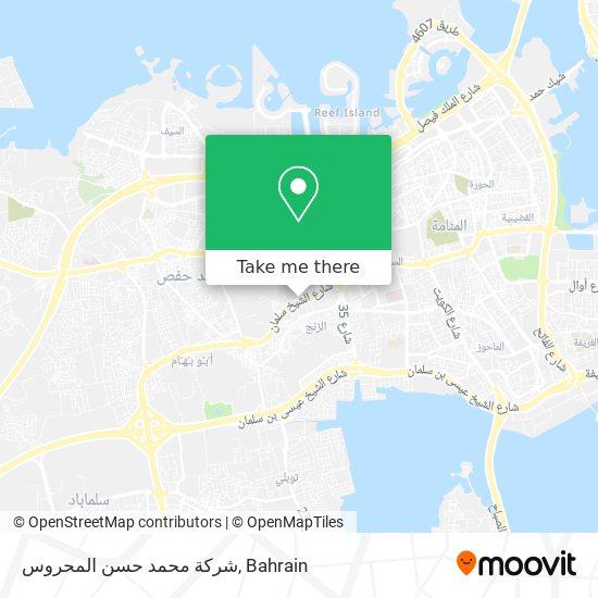شركة محمد حسن المحروس map
