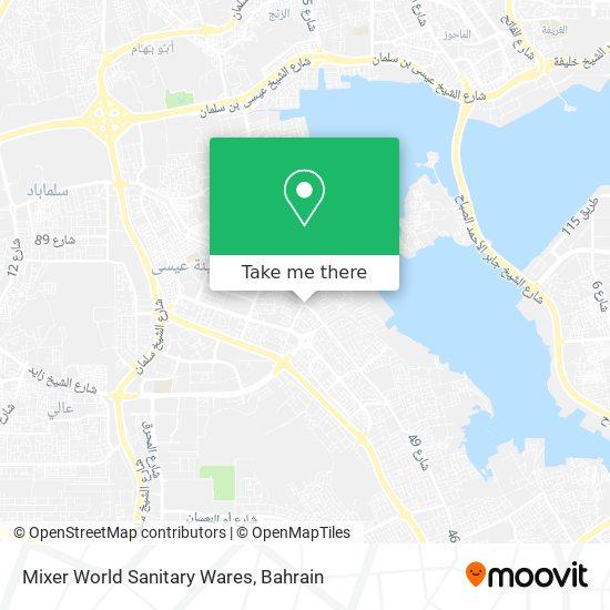 Mixer World Sanitary Wares map