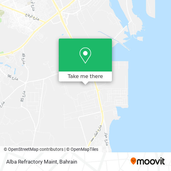 Alba Refractory Maint map