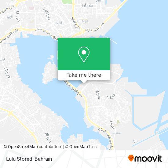 Lulu Stored map