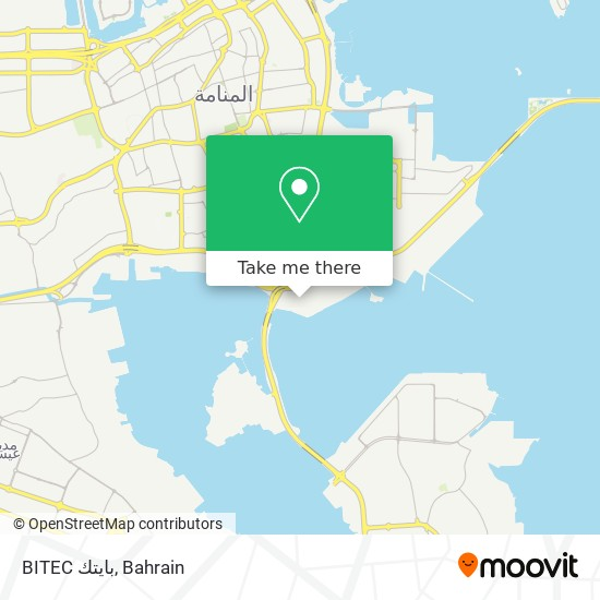 BITEC بايتك map