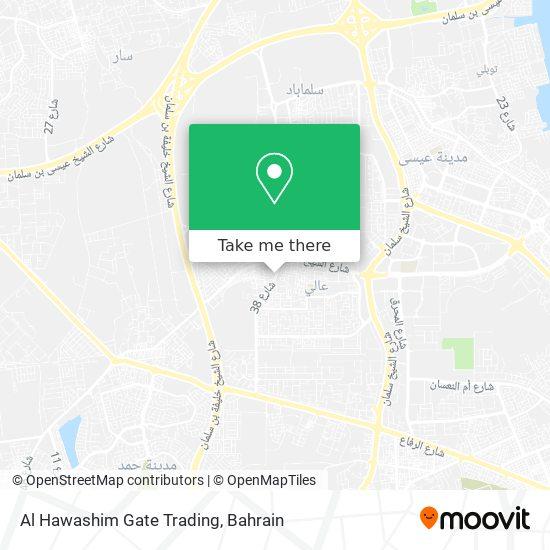 Al Hawashim Gate Trading map