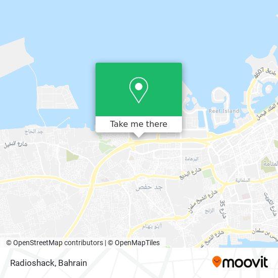 Radioshack map