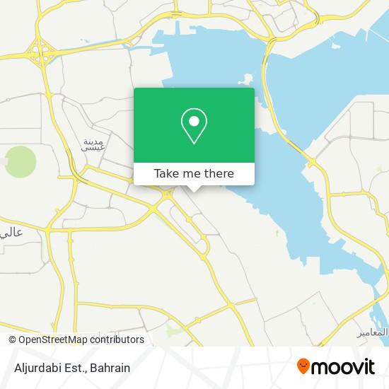 Aljurdabi Est. map