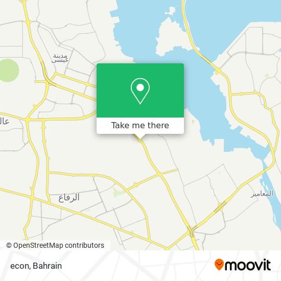 econ map