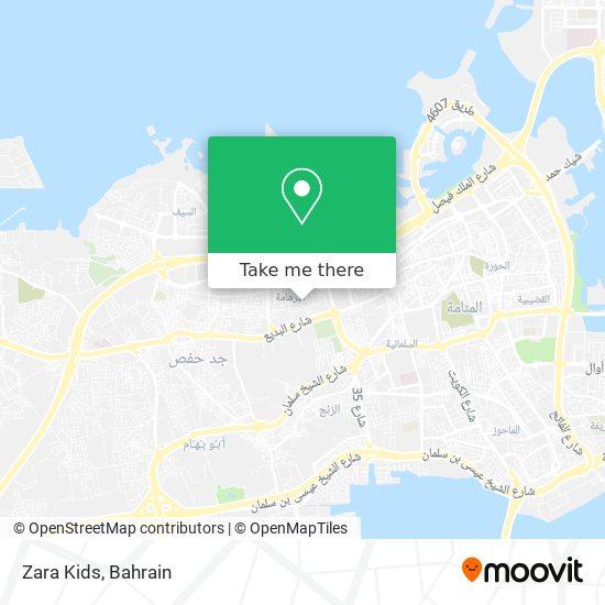 Zara Kids map