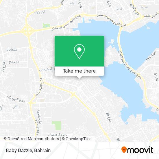 Baby Dazzle map