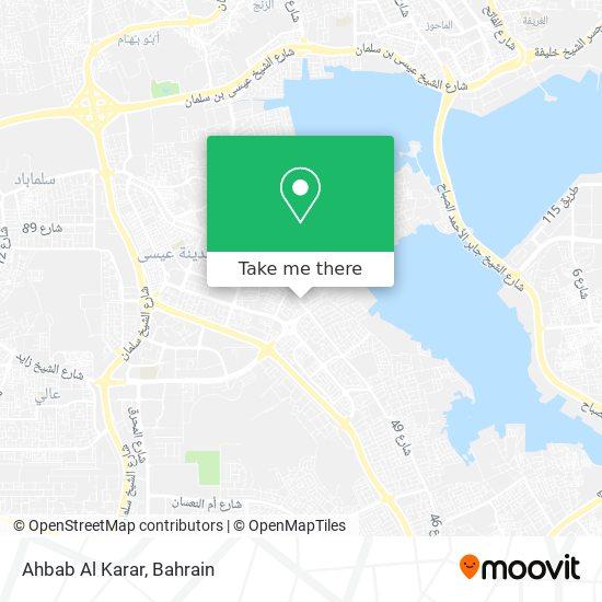 Ahbab Al Karar map