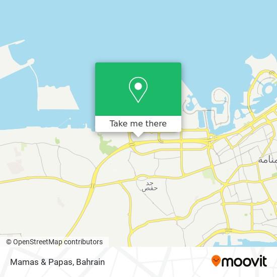 Mamas & Papas map