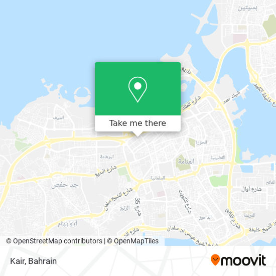 Kair map