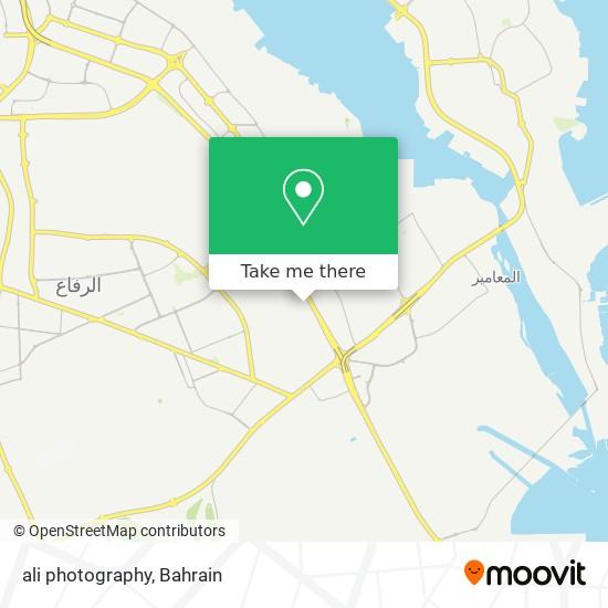 ali photography map