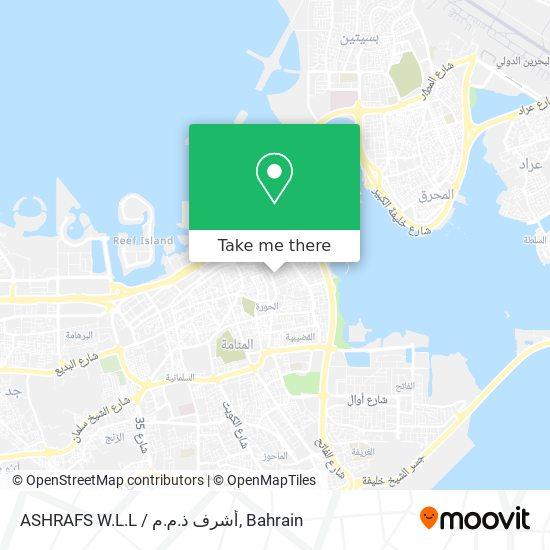 ASHRAFS W.L.L / أشرف ذ.م.م map