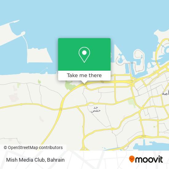 Mish Media Club map