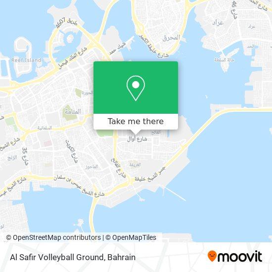 Al Safir Volleyball Ground map