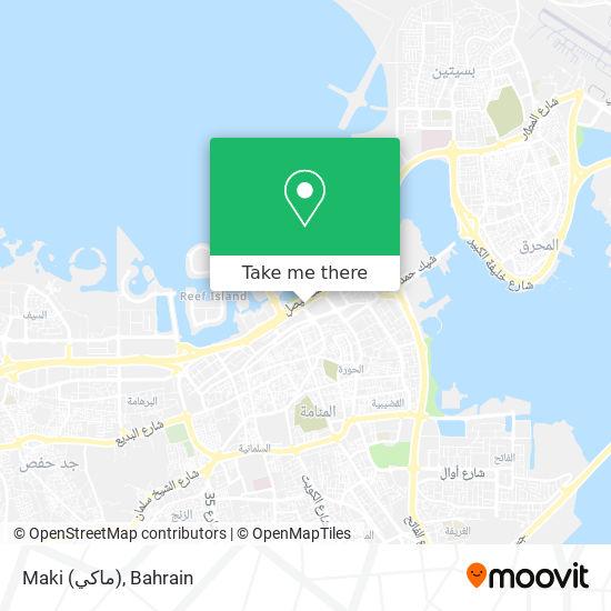 Maki (ماكي) map
