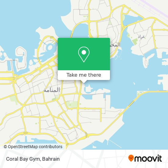 Coral Bay Gym map